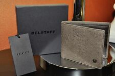 New BELSTAFF CITYMASTER BILLFOLD LEATHER Wallet 100% Authentic Color ASH