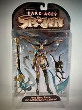 SPAWN Dark Ages THE SKULL QUEEN Figure (1998 McFarlane Toys) Series 11 Variant