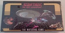 "SEALED~ Star Trek ~ The Next Generation ~""THE MATCHING PUZZLE GAME"" 1995 DaMert"