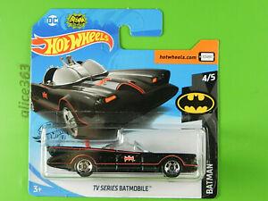 Hot Wheels 2020 - TV Série Batmobile - Batman - 197 - Neuf Emballage D'Origine