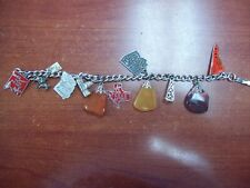 State's Charm Braclette (lot's of sterling)