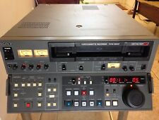 Sony PVW-2800 BETACAM SP VTR Editing Studio Video cassette Recorder/Player PAL