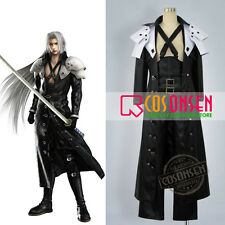 Cosonsen FF7 Final Fantasy VII Sephiroth Cosplay Costume All Size Custom Made
