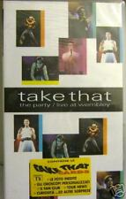 TAKE THAT -THE PARTY/LIVE AT WEMBLEY vhs videocassetta