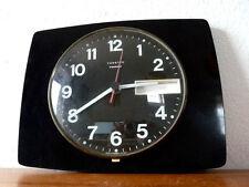 Belle Horloge   VEDETTE  Noire  Vintage   Des Années 50's  Mar21