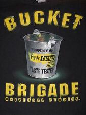 """Fear Factor- Bucket Brigade"" Long Sleeve T-Shirt Unique TV item(S)"