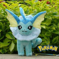 "Nintendo Pokemon Plush Toy Vaporeon 8""  Cuddly Stuffed Animal Doll  B035"