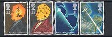 GB 1991 Scientific achievements fine used set stamps