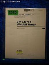 Sony Bedienungsanleitung ST JX661 / SE200 FM/AM Tuner (#2320)