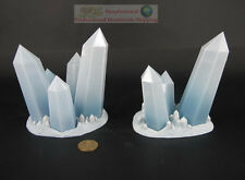 RACKHAM AT-43 Frostbite Bases Elysian Crystals Miniature Game Figure ATAC06