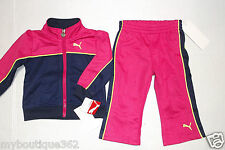PUMA BABY GIRLS 2 PIECE JERSEY SET LONGSLEEVES & PANTS 24 MONTHS NEW WITH TAG