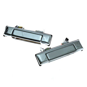 FITS 79-87 TOYOTA COROLLA KE70 KE72 KE75 TE71 TE72 LH RH CHROME DOOR HANDLE PAIR