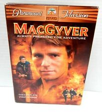 2M Dvd Macgyver The Complete First Season Original Tv Series!