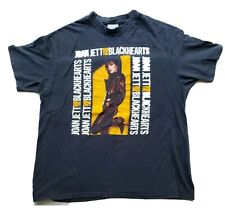 """New listing Vintage Joan Jett & The Blackhearts """"Up Your Alley Tour"""" Rock Band Xl Shirt"""
