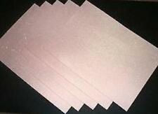 SALE Offwhite Glitter Paper A4 / Pkt 5 - For Invitations or Craft
