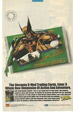 1992 The Uncanny X-Men Trading Cards Advertisement
