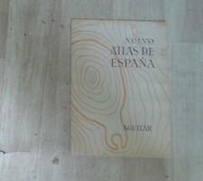 AGUILAR. Nuevo Atlas de Espana. Plaquette de présentation.