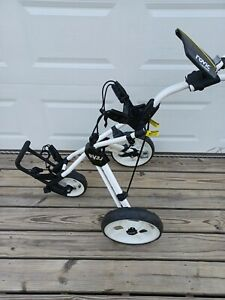Clicgear Golf 3-Wheel Rovic Junior Push Cart Model RV3J  White