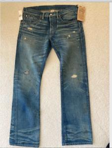 RRL Jeans  -  New  32 x 30  Selvedge Denim