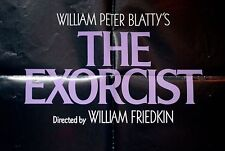 """"""" The Exorcist"""" Horror Classic, Original Movie Poster Authentic One sheet 74/40"""