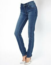 Cheap Monday Mid Wash Tight Skinny Jeans Blue UK 24 IN WAIST 32 in Leg Box1265 e