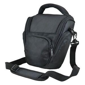 AX7 Black DSLR Camera Case Bag for Fuji SL300 SL245 SL240 X-S1 S3 S5 Pro