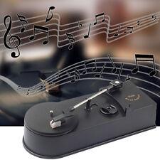 Multifunctional USB Mini Phonograph Turntable Audio Player Convert To CD MP3 CW