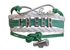 Cheer Jewelry - Girls Cheerleading Infinity Bracelet, Cheerleader Team Gift