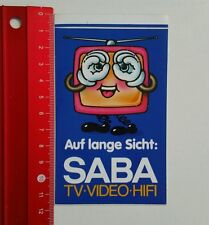 ADESIVI/Sticker: Saba TV video hi-fi (04051616)