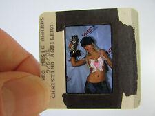 More details for original press photo slide negative - christina aguilera - 2001 - o