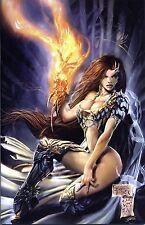 Witchblade # 62 (US 100) alemán Virgin-Variant lim.150 ex. Michael Turner