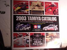 15µµ Catalogue maquette TAMIYA 2003