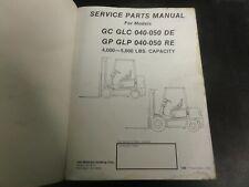 Yale GC GLC 040-050 DE  GP GLP 040-050 RE Forklift Service Parts Manual    1480