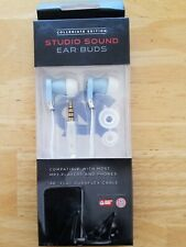 Collegiate Edition NORTH CAROLINA TAR HEELS Studio Sound Ear Buds New