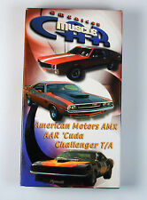 American Muscle Car Video AMX, AAR Cuda & Challenger T/A Free U.S. Shipping