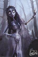 CORPSE BRIDE ~ SOLO IN FOREST 24x36 MOVIE POSTER Tim Burton Helena Bonham Carter