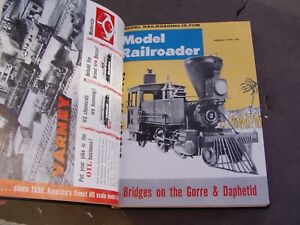Model Railroader Magazine Bound Volume 26, 1959