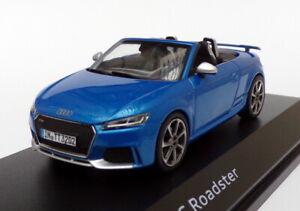 Herpa 1/43 Scale 501.16.105.32 - Audi TT RS Roadster - Metallic Blue