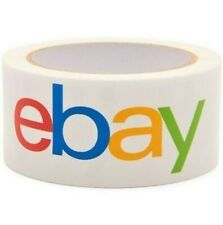 """Classic Official eBay Branded Packaging Tape  2"""" x 75 yards, Single Roll"""