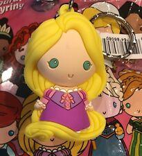 Disney Monogram 3D Foam Figural Keyring/Keychain Princess Series 7 Rapunzel