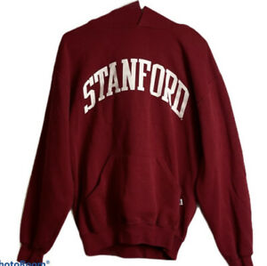 Stanford University Red Russell Hoodie Size Medium