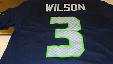 Seattle Seahawks Russell Wilson Name & Number XXL Shirt Players Football