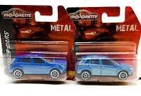 Majorette Set Mitsubishi ASX Blue & Metallic Blue 1/57 292H Short Package