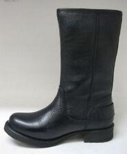 Scarpe da ginnastica nere con cerniera per donna 100% pelle