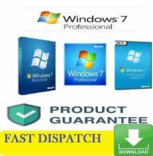 Genuine Microsoft Windows 7 Professional 32/64Bit License Key
