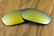24k Gold Iridium Polarized Replacement Sunglass Lenses for Oakley Split Jacket