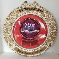 Vintage Pabst Blue Ribbon Beer Good Old Time Flavor. Bar, Mancave, Gameroom,Den
