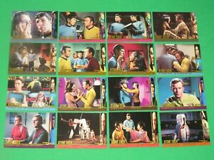 1999 STAR TREK THE ORIGINAL SERIES TOS SEASON 3 CHARACTER LOG INSERT 47 CARD LOT