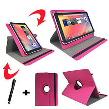 10.1 zoll Tablet Tasche -  Amoi Q10 Dual Core Hülle Etui - 360° Pink
