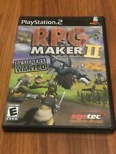 RPG Maker II (Sony PlayStation 2, 2003) Complete!